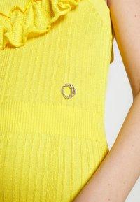 Just Cavalli - Společenské šaty - yellow - 7