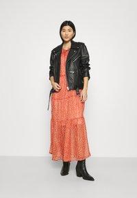 Saint Tropez - XELINASZ DRESS - Maxi dress - red orange puff sky - 1
