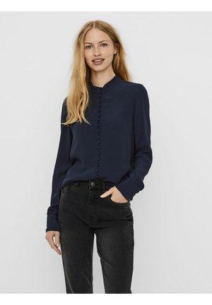 JAPANISCHER - Skjortebluser - navy blazer