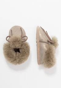 Bergstein - BAMBI LUX - First shoes - taupe/gold - 0