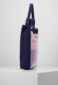Mads Nørgaard - TÖTE BAG - Tote bag - dark navy/soft rose - 3