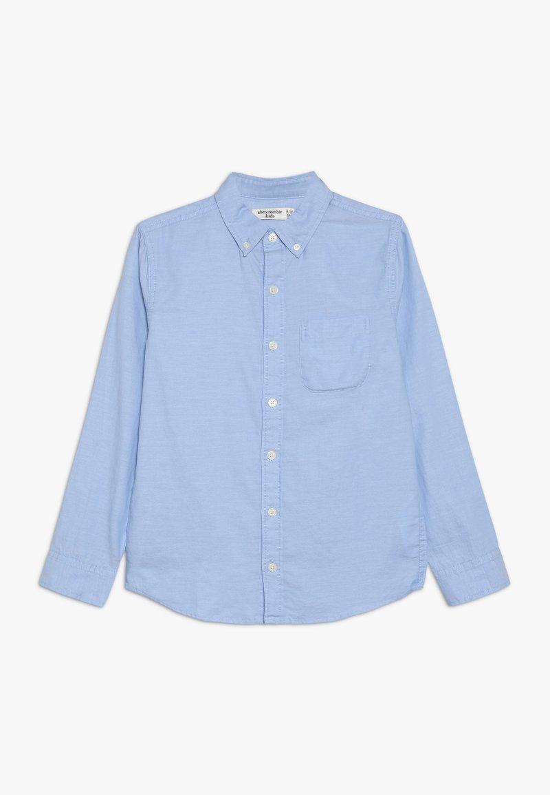 Abercrombie & Fitch - SOLID UNIFORM - Košile - blue solid