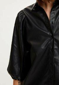 DeFacto - Button-down blouse - black - 4
