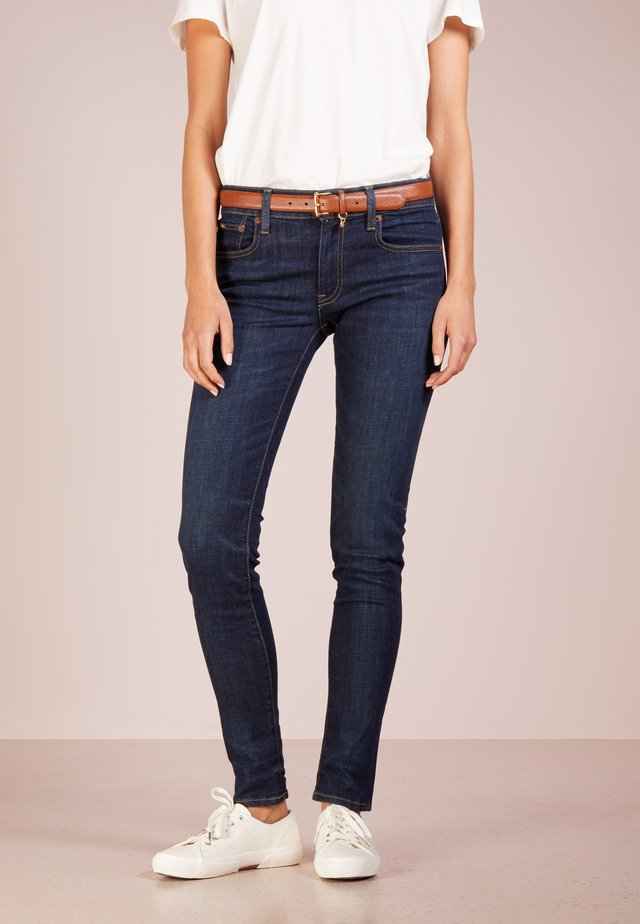 SERRET - Skinny džíny - dark indigo