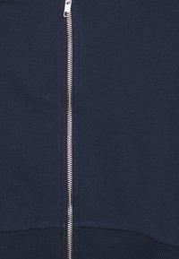 NU-IN - ZIP UP CROPPED HOODIE - Sweatshirt - navy - 2