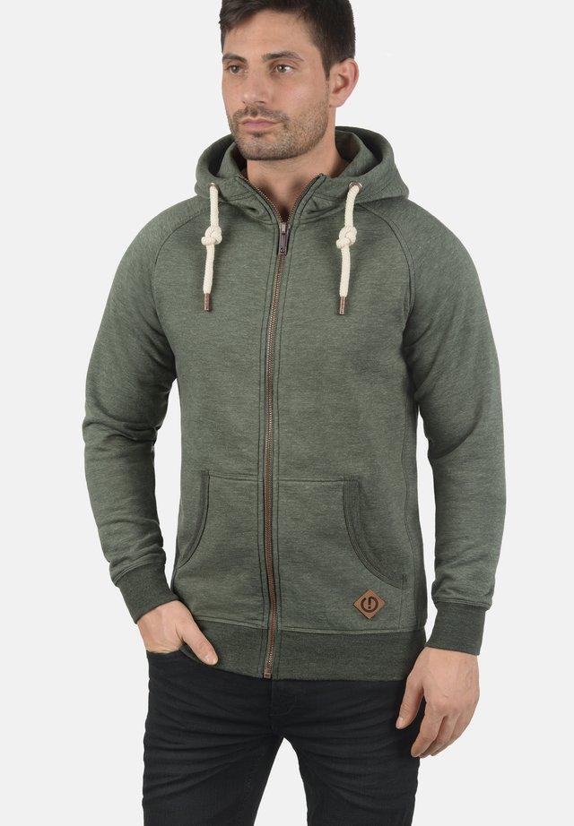 VITU - Zip-up hoodie - olive