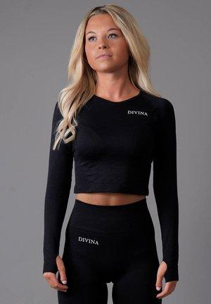 ELECTI - Långärmad tröja - black