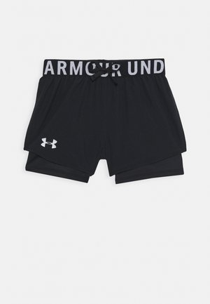 2-IN-1 SHORTS - Sports shorts - black
