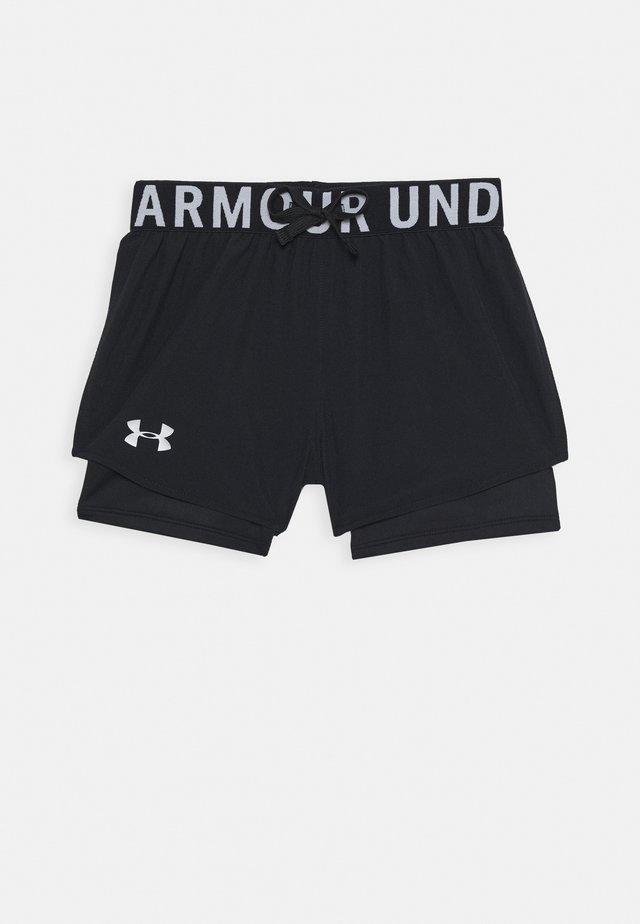 2-IN-1 SHORTS - Sports shorts - black