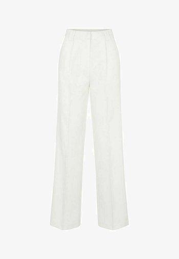 YASWIRA - Spodnie materiałowe - eggnog