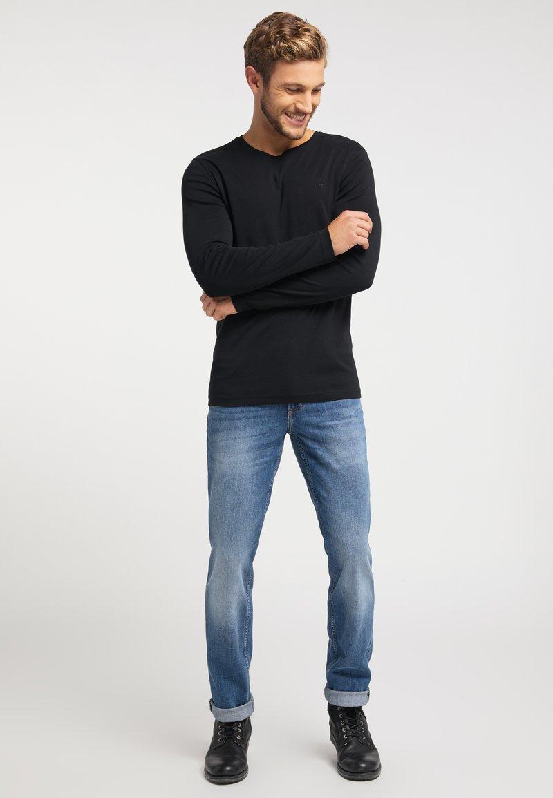 Mustang - Long sleeved top - black