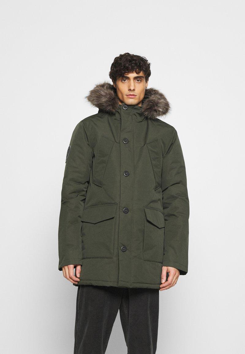 Superdry - EVEREST  - Winter coat - army khaki