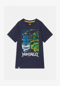 LEGO Wear - Print T-shirt - dark navy - 0