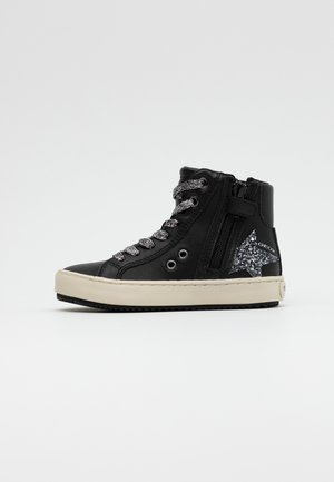 KALISPERA GIRL - High-top trainers - black/dark silver