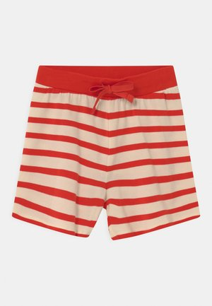 STRIPE UNISEX - Shorts - red