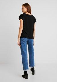 Vero Moda - VMCELENA JRS - T-shirt basique - black - 2