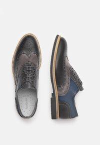 NeroGiardini - Šněrovací boty - antracite - 2