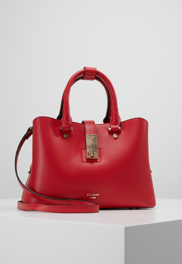 DINIDIELLA - Handbag - red plain