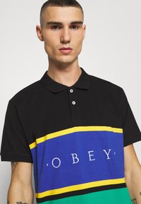 Obey Clothing - PLEDGE  - Polo - black/multi - 4