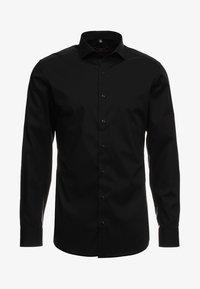 Eterna - SLIM FIT HAI - Formal shirt - black - 5