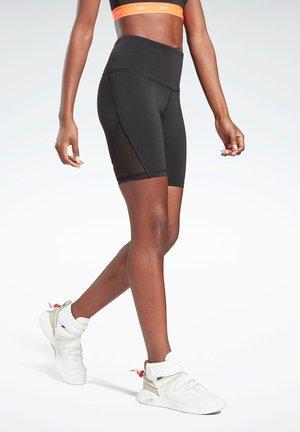 STUDIO SHORT LEGGINGS - Shorts - black