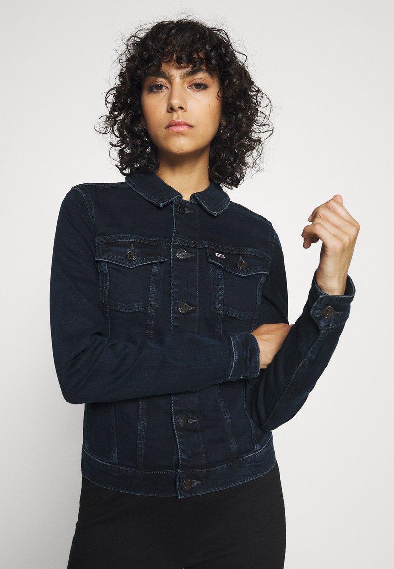 Tommy Jeans - VIVIANNE - Denim jacket - denim dark