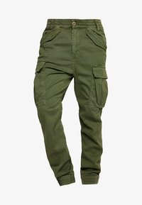 Alpha Industries - AIRMAN - Cargo trousers - dark oliv - 5