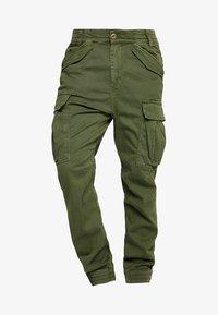 AIRMAN - Cargo trousers - dark oliv