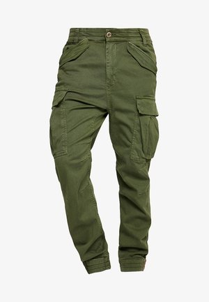 AIRMAN - Cargo trousers - dark oliv