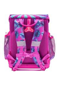Belmil - SET - School bag - neon pink - 1