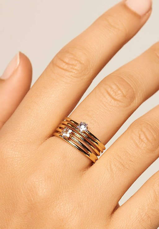 PDPAOLA - Ring - gelbgold