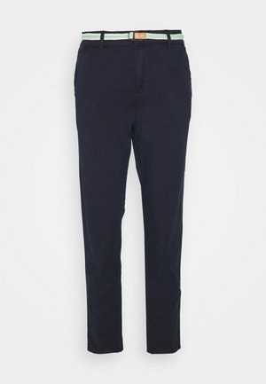 SLIM - Trousers - navy