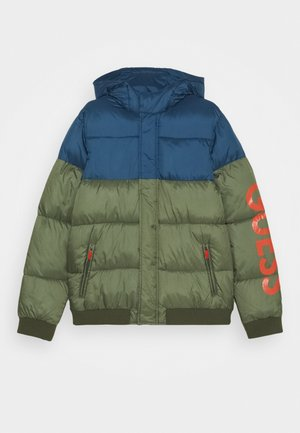 JUNIOR HOODED PADDED JACKET - Jas - sand dollar