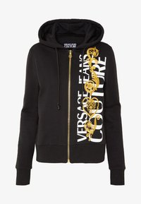 Versace Jeans Couture - Zip-up hoodie - black/gold - 4