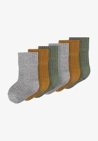 Name it - 6 PACK - Socks - climbing ivy - 0