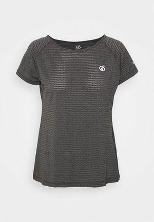 DEFY TEE - Camiseta básica - ebony grey