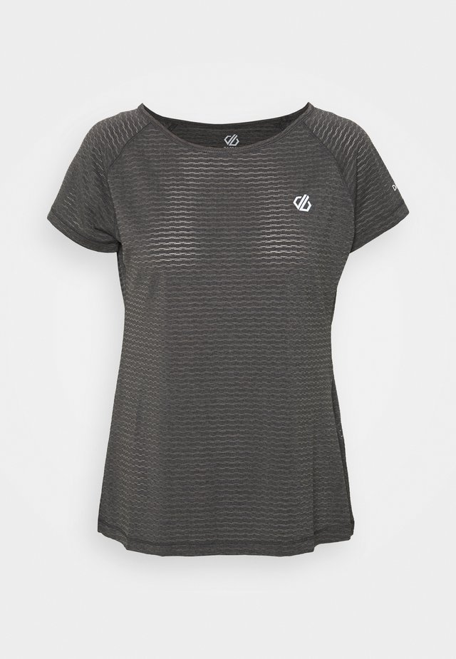 DEFY TEE - T-shirt basic - ebony grey
