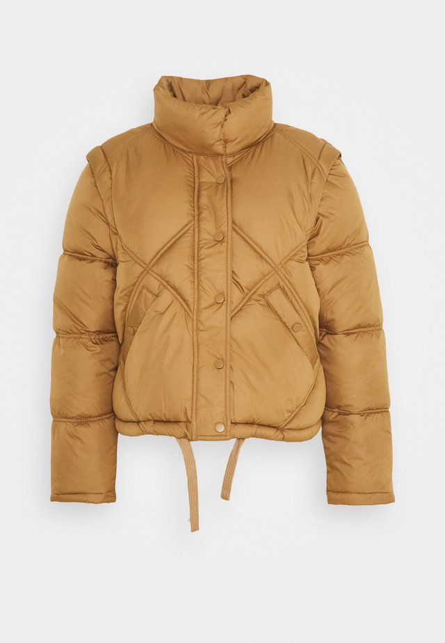 ONLHANNAH QUILTED JACKET - Veste d'hiver - toasted coconut