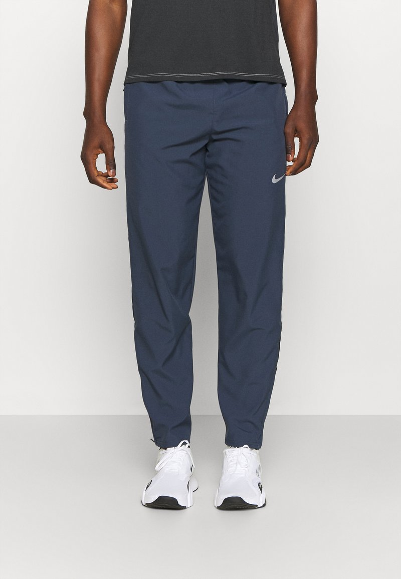 Nike Performance - RUN STRIPE PANT - Trainingsbroek - thunder blue/dark obsidian/silver