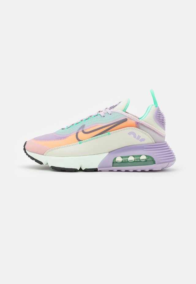 AIR MAX 2090 - Sneakers basse - infinite lilac/dark smoke grey/sea glass/laser orange/green glow/barely rose