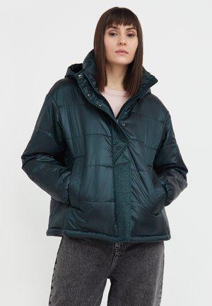 Winter jacket - dark green