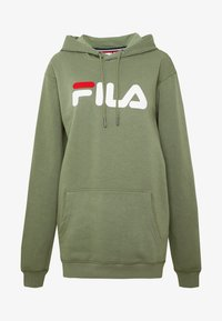 Fila Tall - PURE HOODY - Jersey con capucha - sea spray - 5