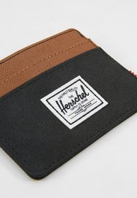 Herschel - CHARLIE - Portemonnee - black/saddle brown - 2
