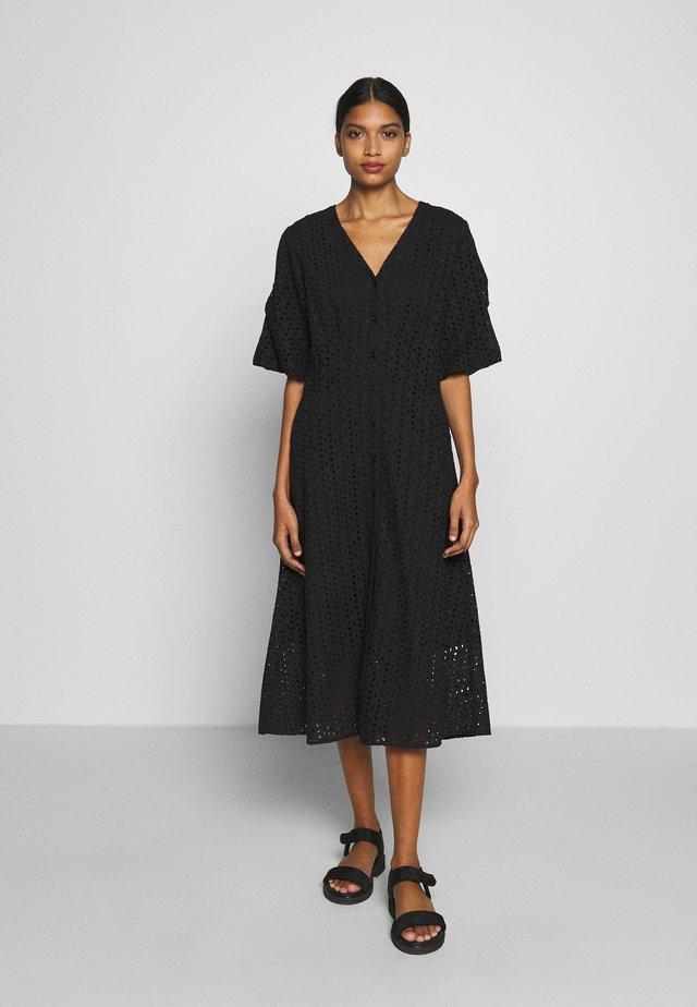 MILLY DRESS - Freizeitkleid - black