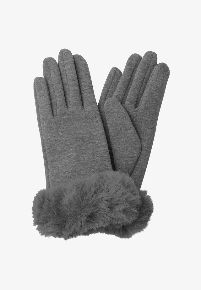 Fingerhandschuh - gris