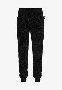 Versace Jeans Couture - BAROQUE JOGGERS - Verryttelyhousut - black - 4