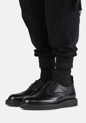 TEDIQ CREPE DERBY SHOE  - Lace-ups - black