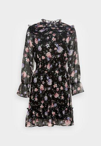 ONLSKYE SMOCK DRESS - Vestito estivo - black/rose
