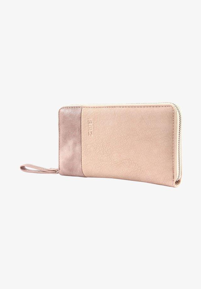 Wallet - rough-creme