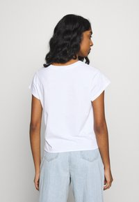 Cotton On - TIE FRONT TEE - Print T-shirt - white - 2